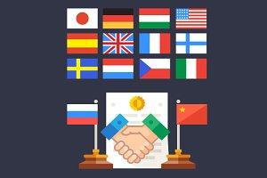 Handshake: State cooperation