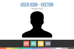 User - Person Profile Avatar Vector