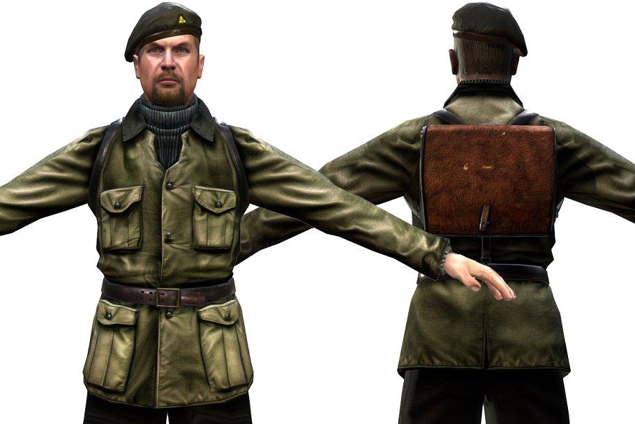 Military Man ~ People Models ~ Creative Market
