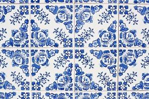 Portuguese tiles azulejos