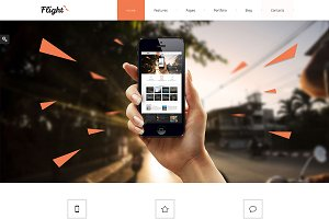 Flight Bootstrap Responsive Template