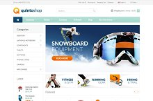 QuintoShop - Premium OpenCart Theme by  in OpenCart