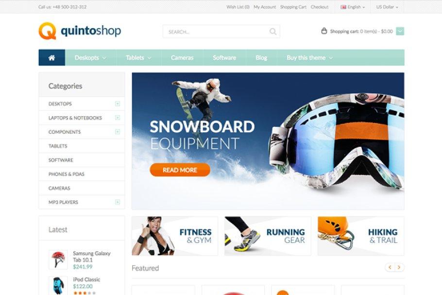 QuintoShop - Premium OpenCart Theme