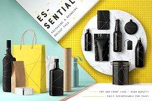 Essential Packaging Branding Mockup