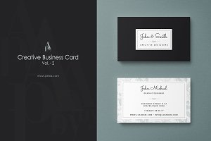 Creative Business Card Vol. 2