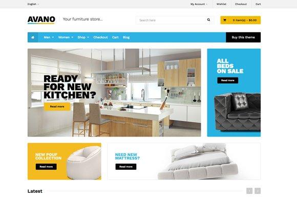 Avano Premium WooCommerce Theme