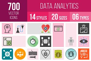 700 Data Analytics Icons