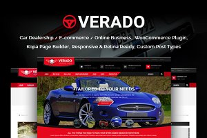 Verado Bussiness WordPress Theme