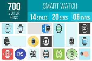 700 Smart Watch Icons