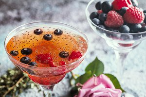 Fresh berry drink