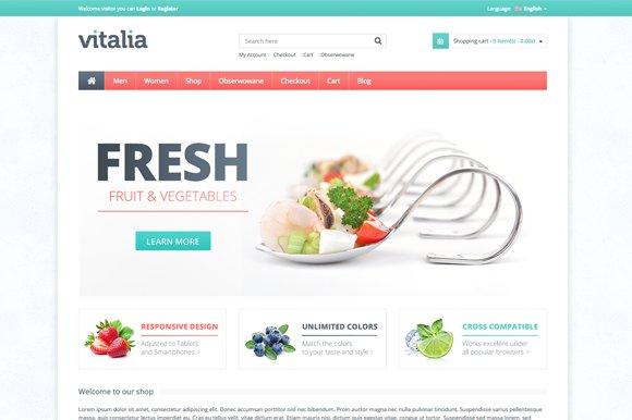 Vitalia Premium WooCommerce Theme