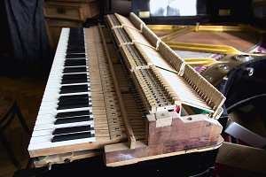 Parsed piano repair