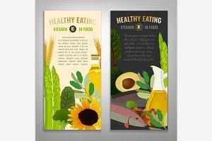 Vitamin E Banners