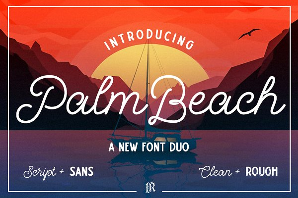 Palm Beach Font Duo