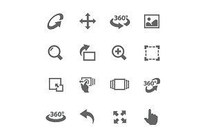 Image Manipulation Icons