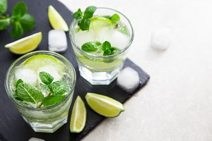 summer lemonade mojito
