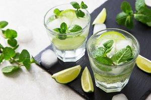 summer lemonade mojito