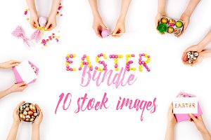 50% OFF! Easter photos bundle