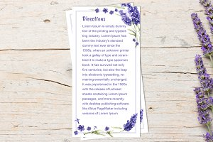 Lavender Wedding direction DiY