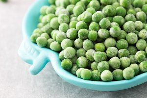 Fresh frozen peas