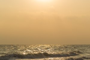 Sea in the morning
