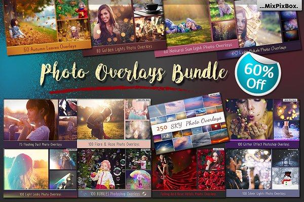 900+ Photo Overlays Bundle