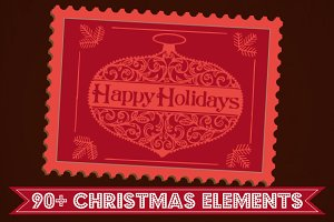 Christmas & New Year elements