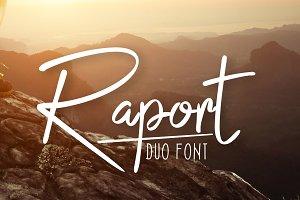 Raport Script (Duo Font + Extra)
