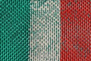 Italian Flag of Italy