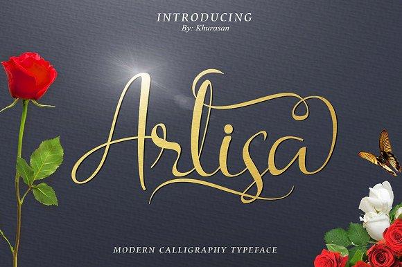 Arlisa Script