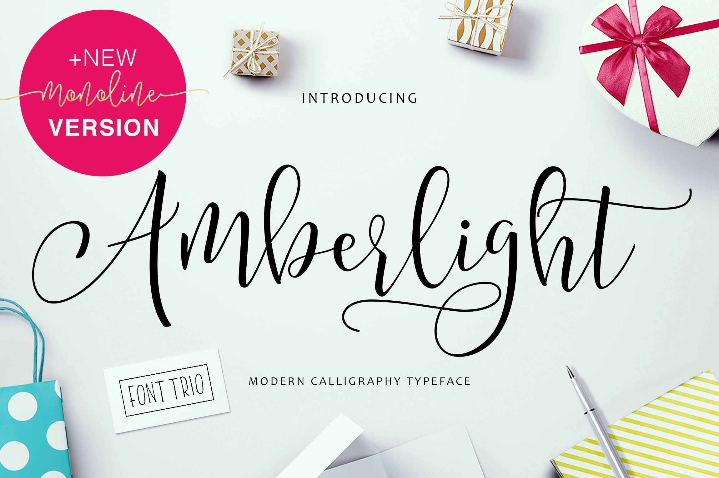 Amberlight Script Fonts Creative Market