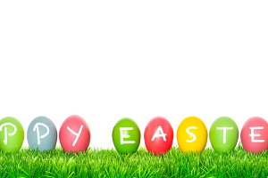Holidays banner Happy Easter