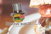 Stove Pipe Burger