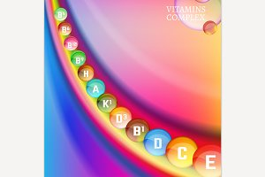 Vitamin Background