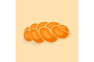 Bakery vector illustration of fresh bread