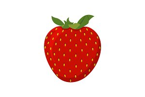 Strawberry vector illustration