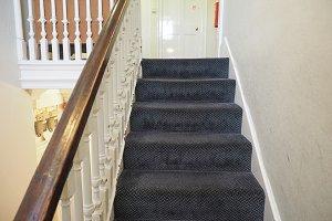Traditional british stairs