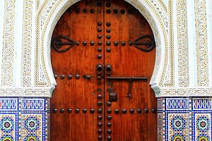 Door in Marrakesh, Morocco
