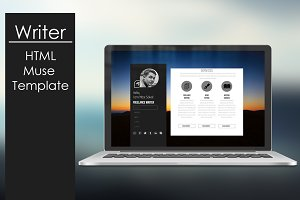 Writer - HTML/Muse Template
