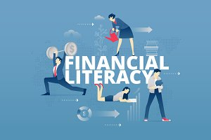 Financial literacy hero banner