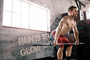 Bodybuilder cross training