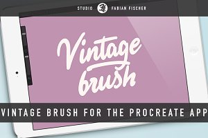 Vintage Brush for Procreate