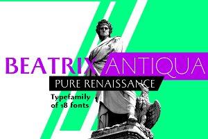Beatrix Antiqua - 18 fonts