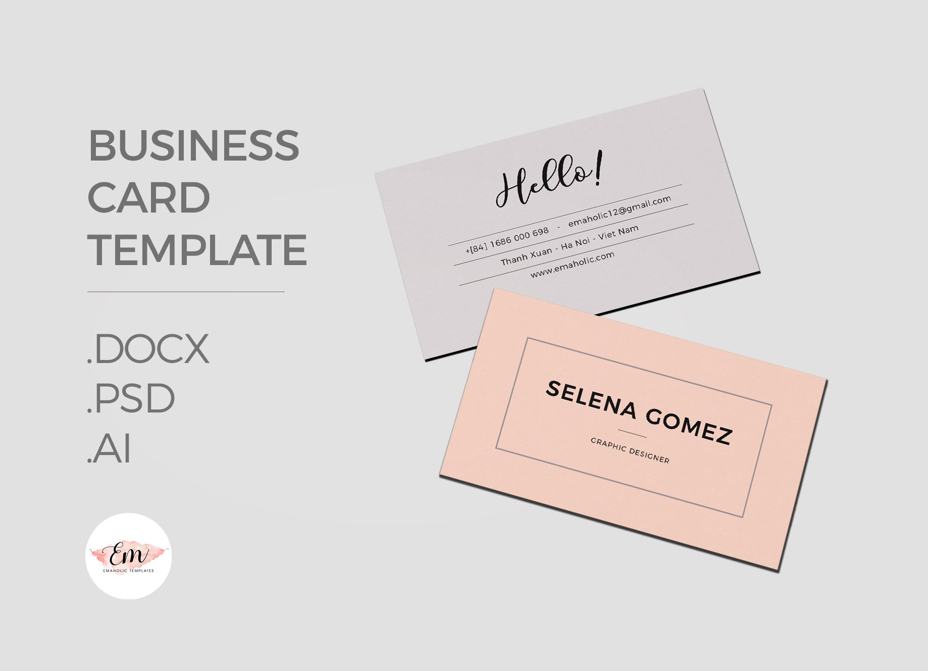 Name Card Template ~ Business Card Templates ~ Creative Market