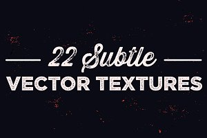 22 Subtle Vector Texture Pack