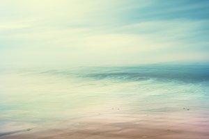 Retro Abstract Seascape