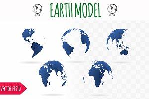 Transparent Earth model
