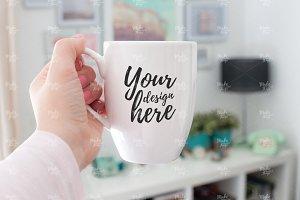 Bistro mug stock photography #6142