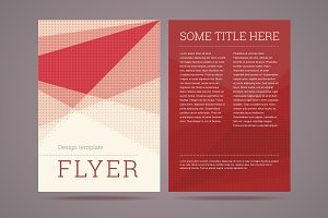 Flyer / brochure design template