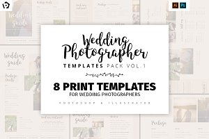Wedding Photography Templates Pack 1